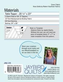 Rock Candy Table Runner - Patroon - Jaybird Quilts