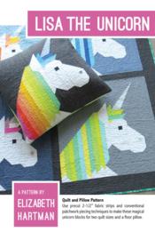 Lisa the Unicorn - patroon - Elizabeth Hartman