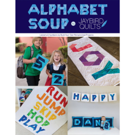 Alphabet Soup - pattern book -Jaybird Quilts -