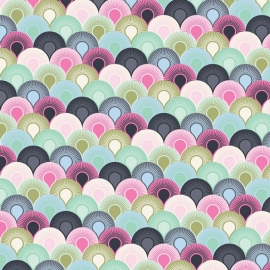 Tula Pink - PWTP066 - Chain Mail - Sky