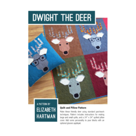 Dwight the Deer - pattern - Elizabeth Hartman