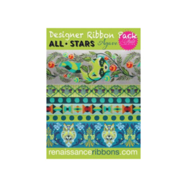 All Stars - Agave - Ribbon Pack - 6 yards