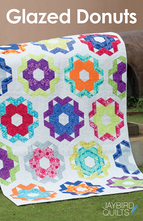Glazed Donuts - patroon -Jaybird Quilts