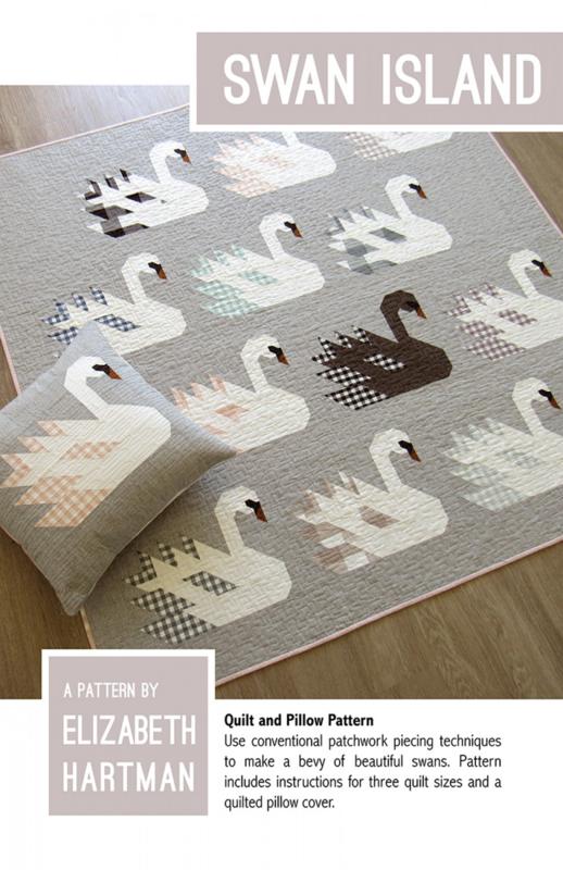 Swan Island - patroon - Elizabeth Hartman