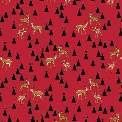 Bambi Life - Holly Berry  - PWTP106 - Tula Pink