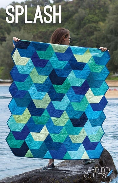 Splash - patroon - Jaybird Quilts