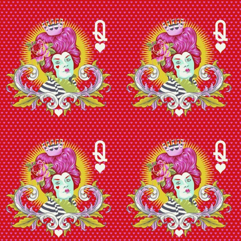 Red Queen - Wonder - PWTP160 - Tula Pink