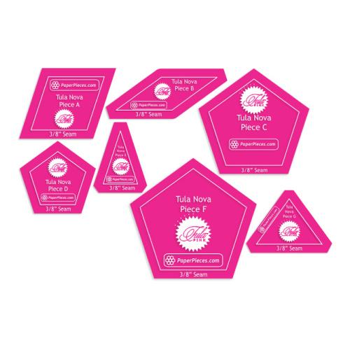 Tula Pink - Tula Nova - Acryl template set