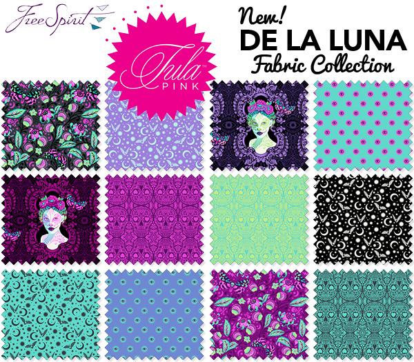 Tula Pink - De La Luna - Package of 18 Layer Cake