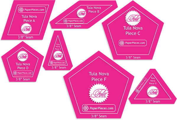 Acryl Mallen set - Tula Nova - Tula Pink