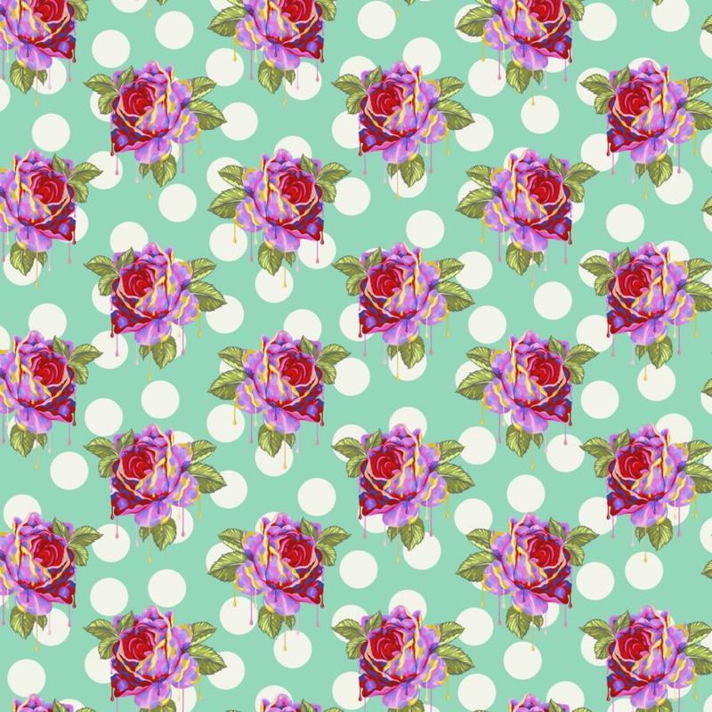 Painted Roses - Wonder - PWTP161 - Tula Pink