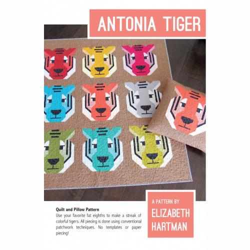 Antonia Tiger - pattern - Elizabeth Hartman