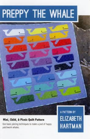 Preppie - The Whale - patroon - Elizabeth Hartman