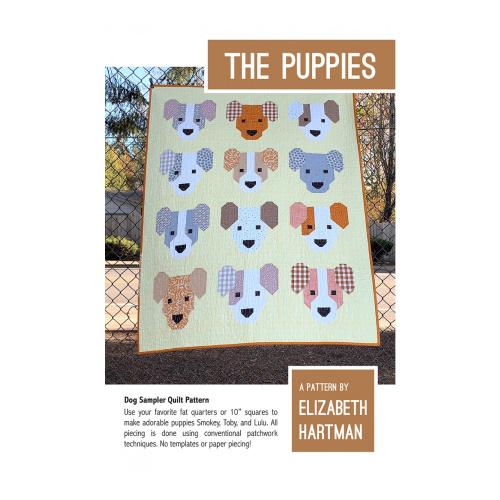 The Puppies - pattern - Elizabeth Hartman