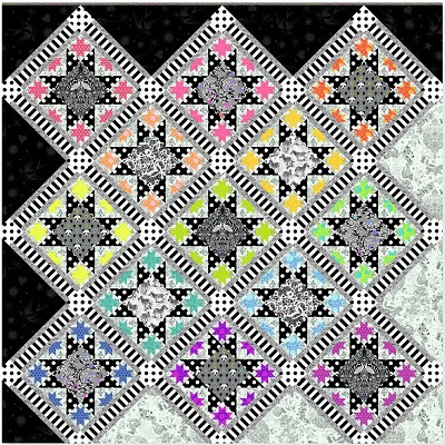 Opening Night Quilt Kit - Linework - Tula PInk