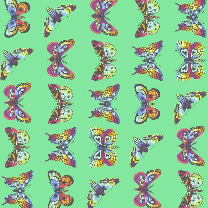 Butterfly Hugs - Lagoon - PWTP171 - Tula Pink