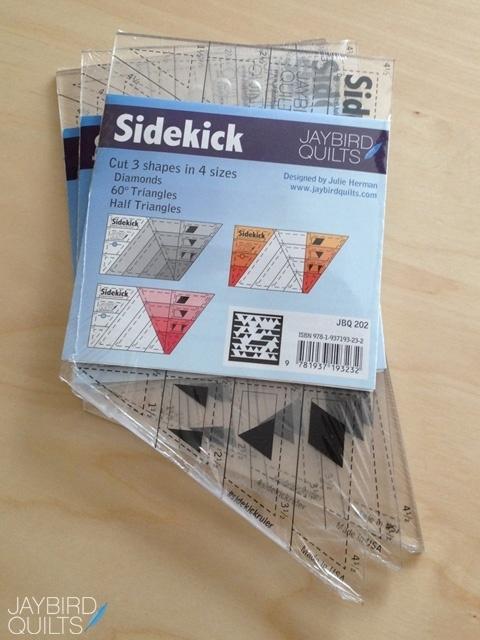 Sidekick liniaal van Jaybird Quilts