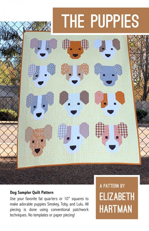 The Puppies - patroon - Elizabeth Hartman
