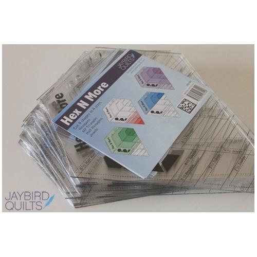 Hex-N-More ruler - Jaybird Quilts