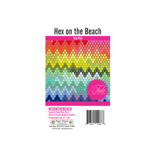 Hex On The Beach - patroon - Paper Pieces - Tula Pink