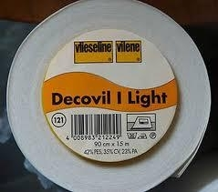 Decovil light, plakbare versteviger