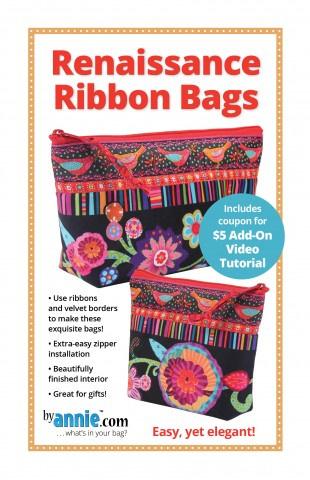 Renaissance Ribbon Bag - By Annie