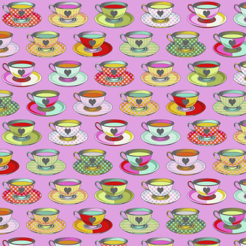 Tea Time - Wonder - PWTP163 - Tula Pink