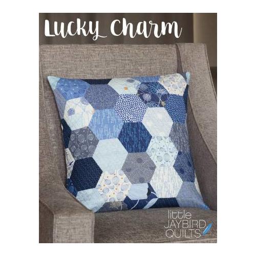 Lucky Charm Pillow - patroon - Jaybird Quilts