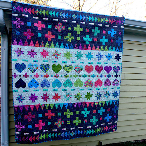 Decorative Stitches Quilt - HomeMade