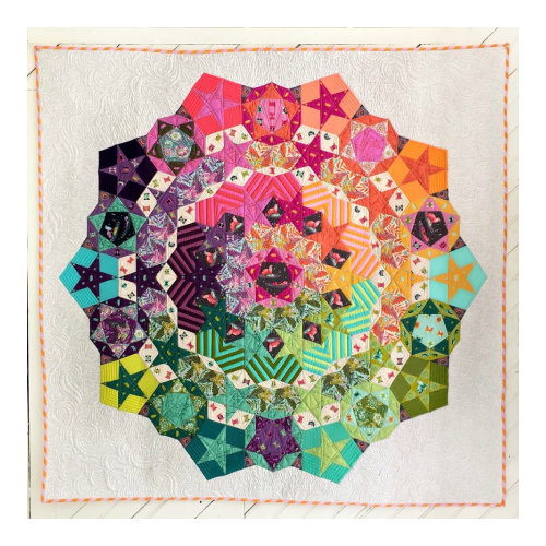 Tula Pink - Tula Nova - Pattern - Paper pieces and Templates