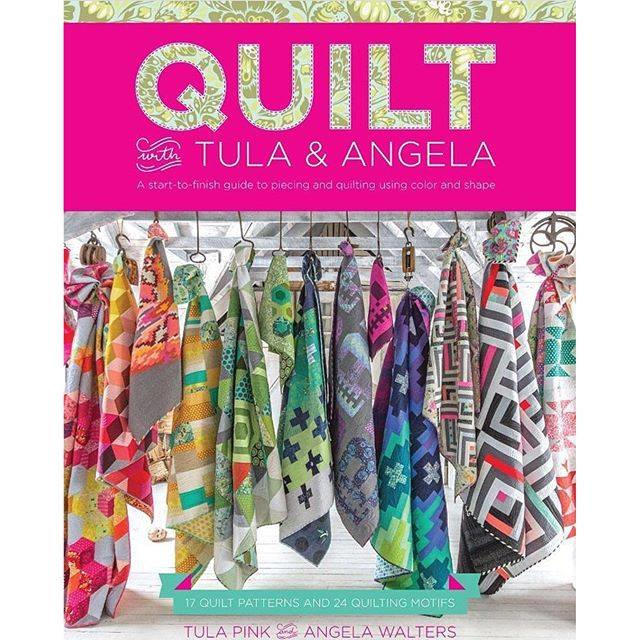 Tula Pink - boek - Quilt with Tula and Angela