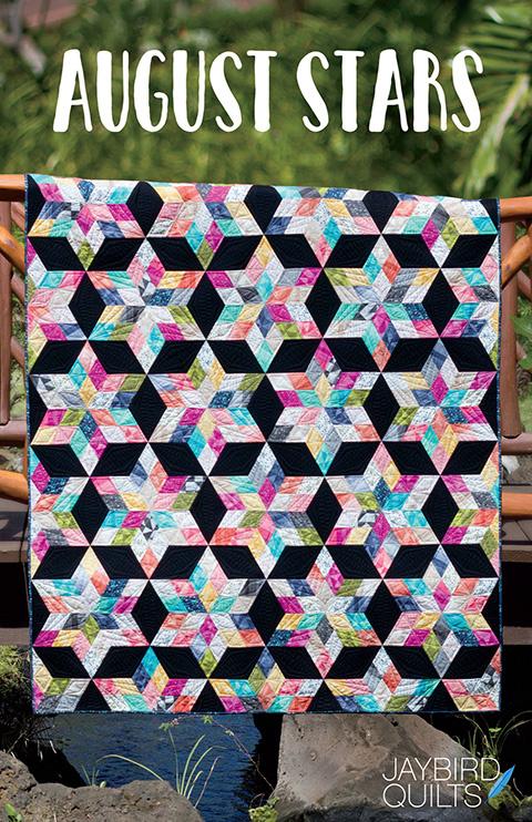 August Stars - patroon -Jaybird Quilts -