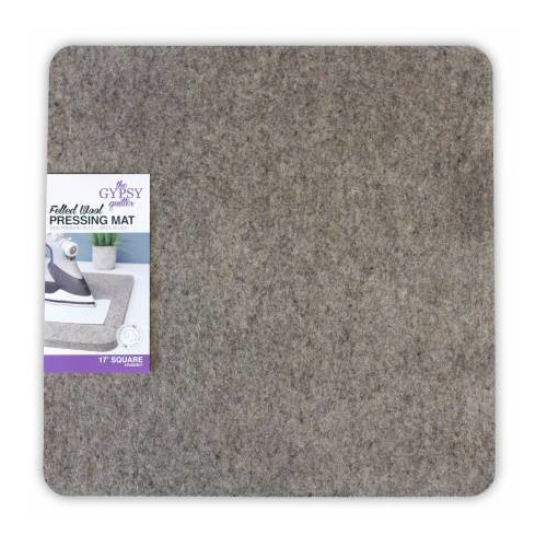 Wool Pressing Mat -  17 inch - Gypsy Quilter