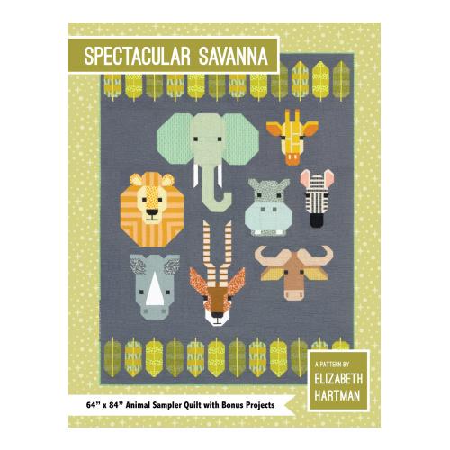 Spectacular Savanna - pattern - Elizabeth Hartman