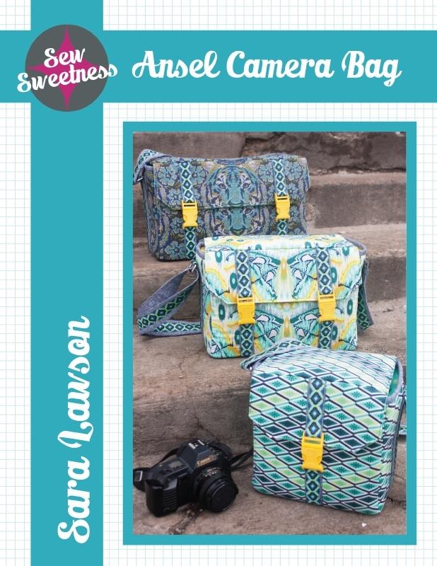 Sew Sweetness - Ansel Camera Bag - Patroon