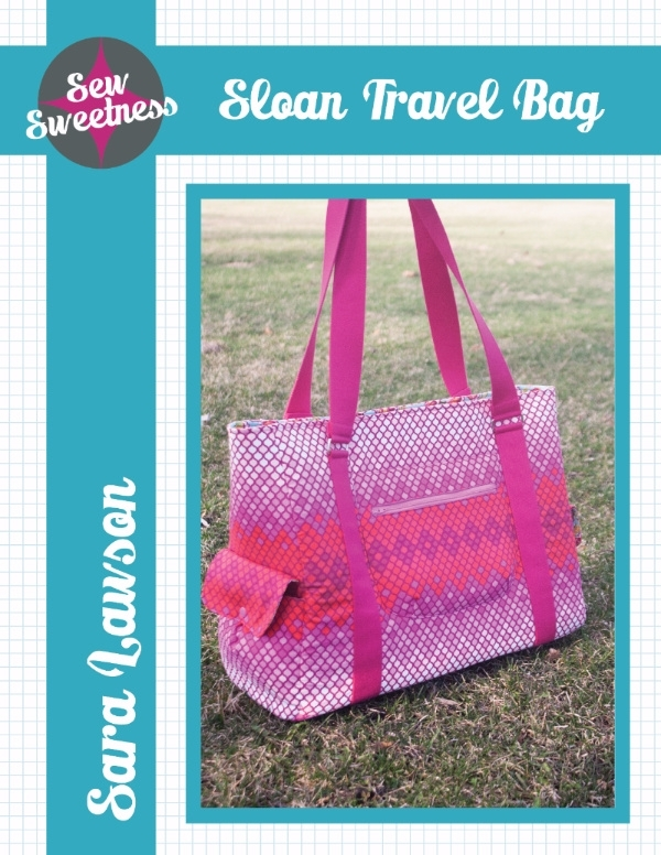 Sew Sweetness - Sloan Travel Bag - Patroon