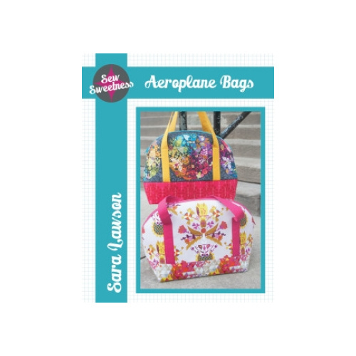 Aeroplane Bag - Pattern - Sew Sweetness