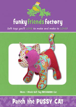 Patch the Pussy Cat - Funky Friends Factory - patroon
