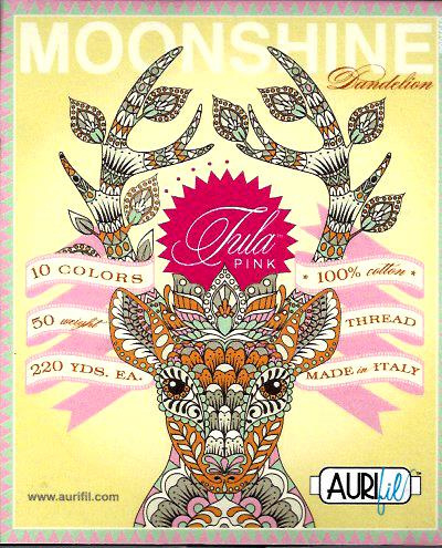 Aurifil - Moonshine Dandelion 50w Tula Pink