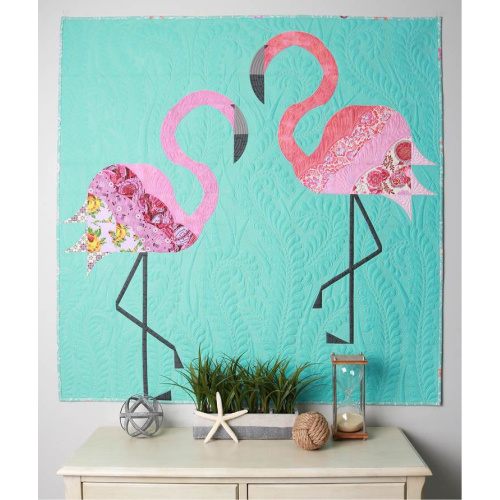 Mod Flamingos - Patroon