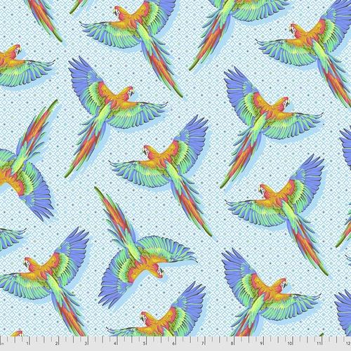 Macaw Ya Later - Cloud - PWTP170 - Tula Pink