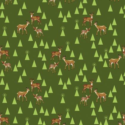 Bambi Life - Pine Fresh - PWTP106 - Tula Pink -
