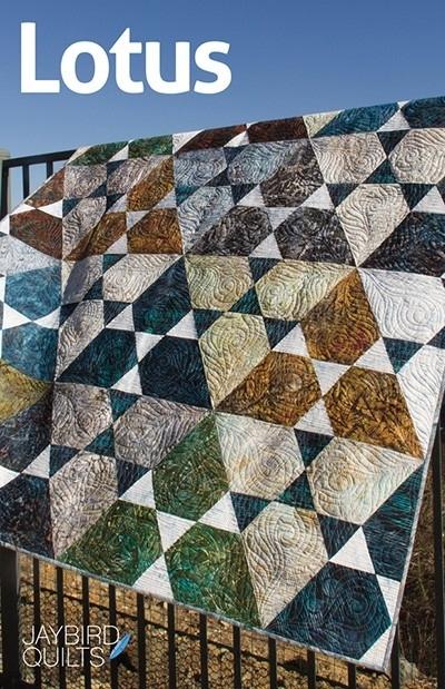 Lotus - patroon - Jaybird Quilts