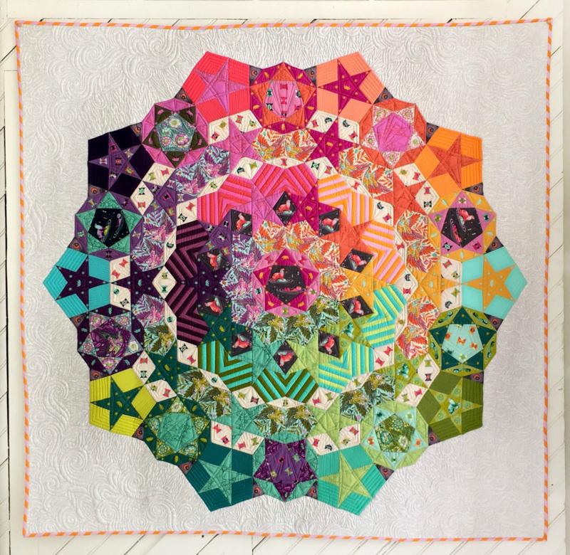 Tula Nova - Patroon + Paper Pieces + Mallen - Tula Pink
