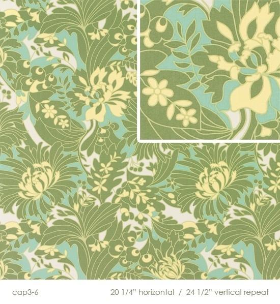 Amy Butler - QHDABS 15 - Full Bloom Moss