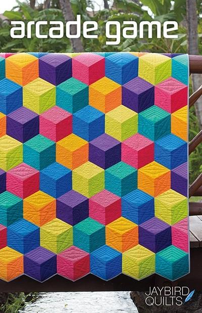 Arcade Game - patroon - Jaybird Quilts