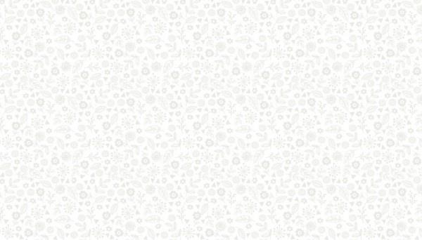 Doodle Ditzy - White on White - Makower