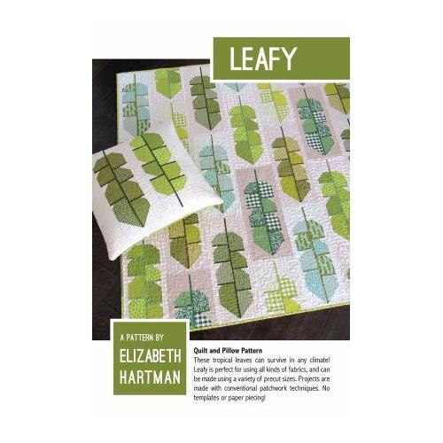 Leafy - pattern - Elizabeth Hartman