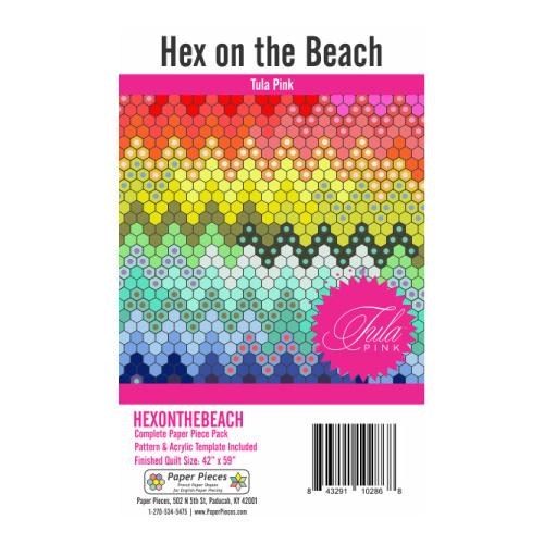 Hex On The Beach - cartrige, mold, cartons, fabrics - Tula Pink