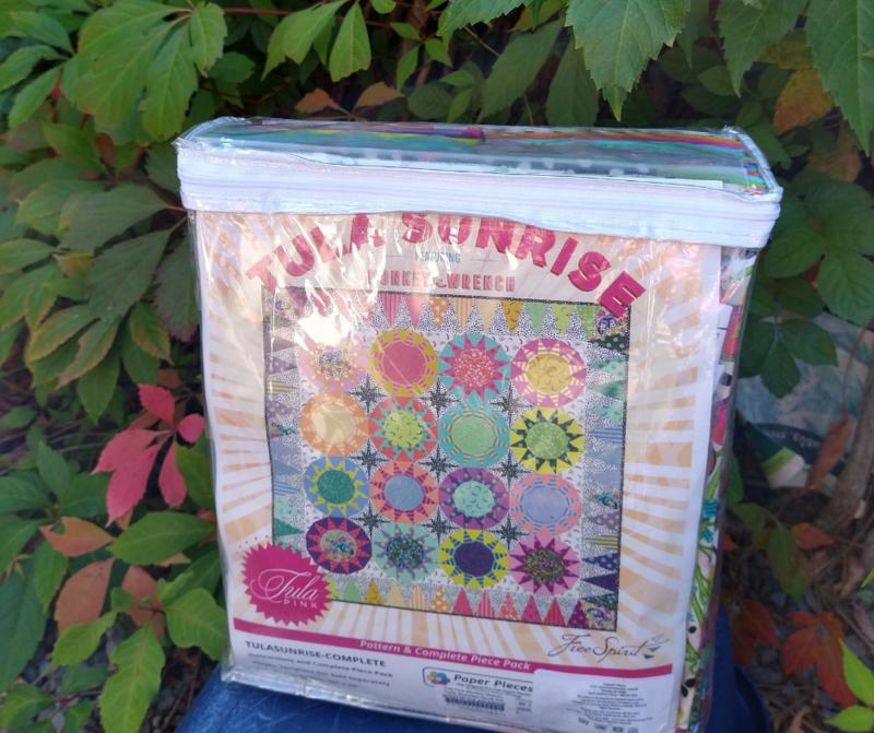 Tula Sunrise - Quilt Kit - Monkey Wrench - Tula Pink